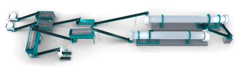 ماشین آلات بازیافت زباله و تولید کود کمپوست