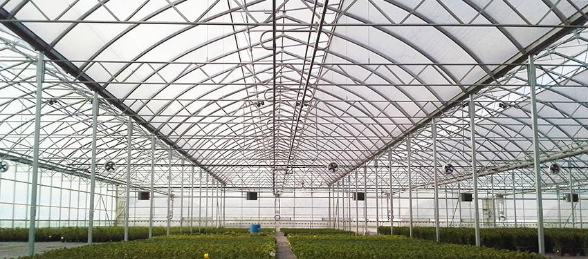 آشنایی با سازه های گلخانه ای
