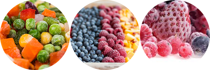 IQF یا Individual Quick Freezing روش انجماد سریع مواد غذایی