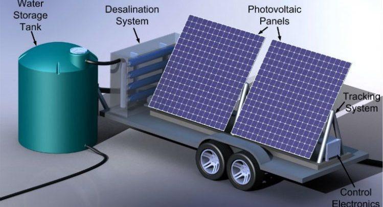 طرح توجیهی تولید آب شیرین کن خورشیدی