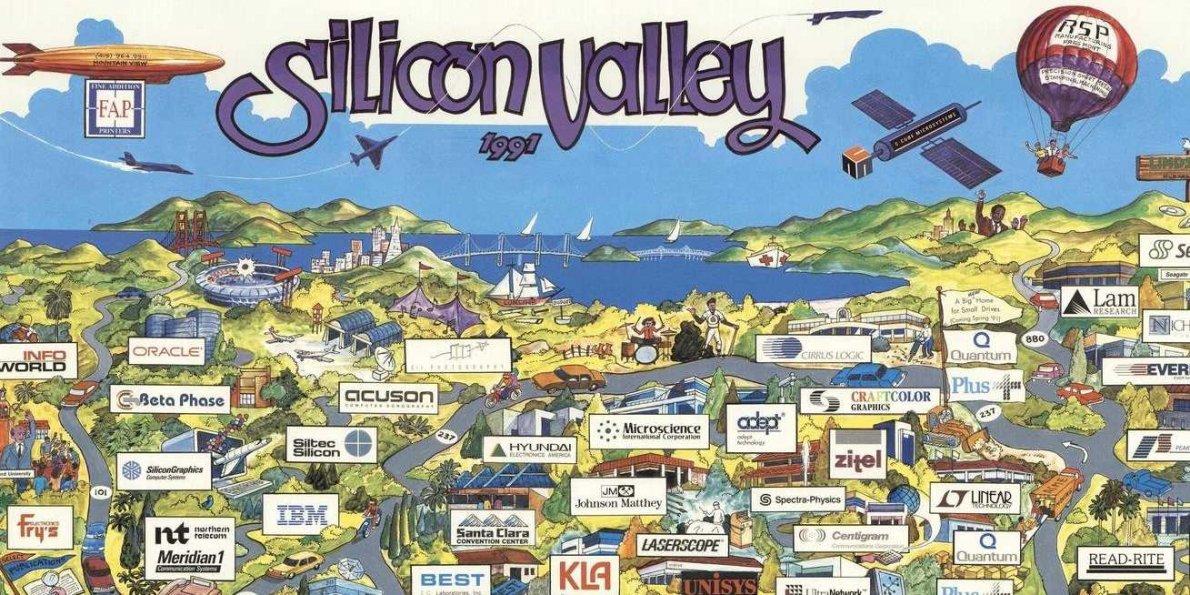 what silicon valley looked like in 1991 - استارتاپ های سیلیکون ولی چگونه استعدادها را جذب میکنند