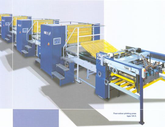 machin - طرح چاپ صنعتی برروی قوطی فلزی