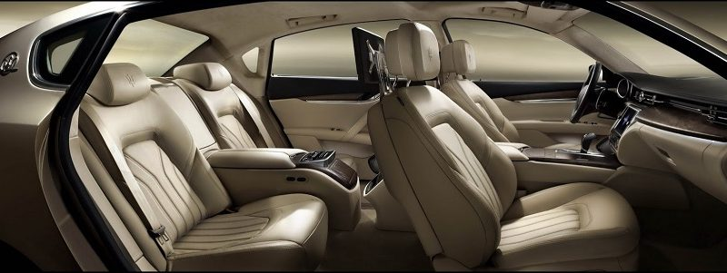2014 Maserati Quattroporte Seats 800x301 - تولید چرم مصنوعی با روش تر و خشک