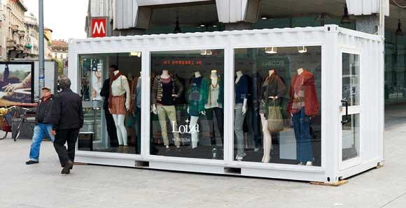 فروشگاه موقت لباس